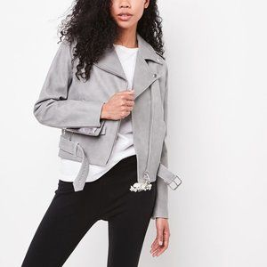 Roots Leather Moto Jacket
